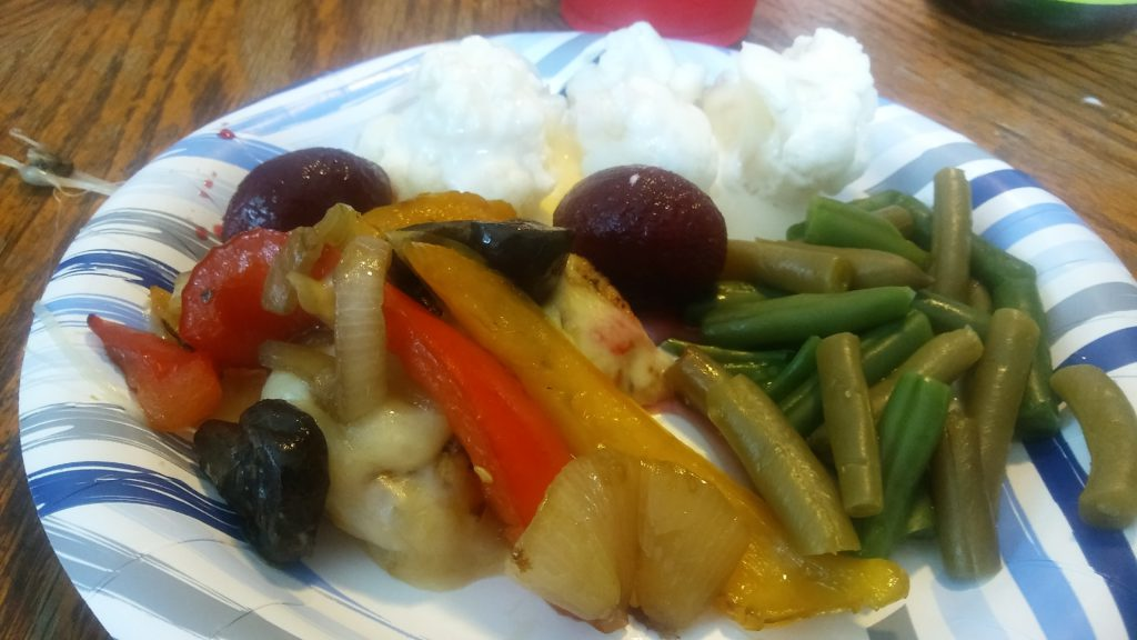 Smothered Chicken Breast Recipe - Monterray Jack Cheese, Peppers, Onions and Mushrooms