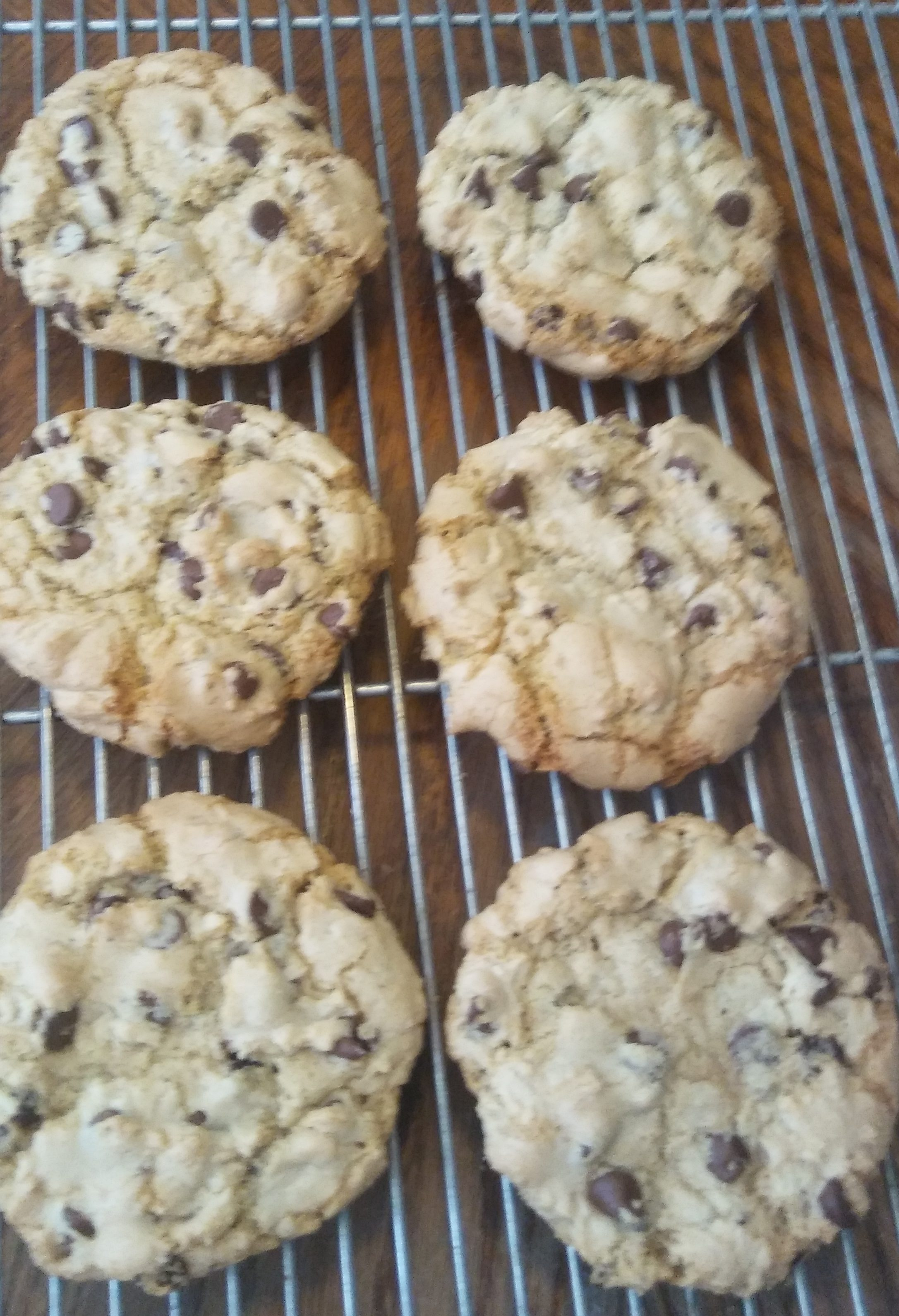 Large Chocolate Chip Cookie Recipe- Like You Would Get In A Bakery