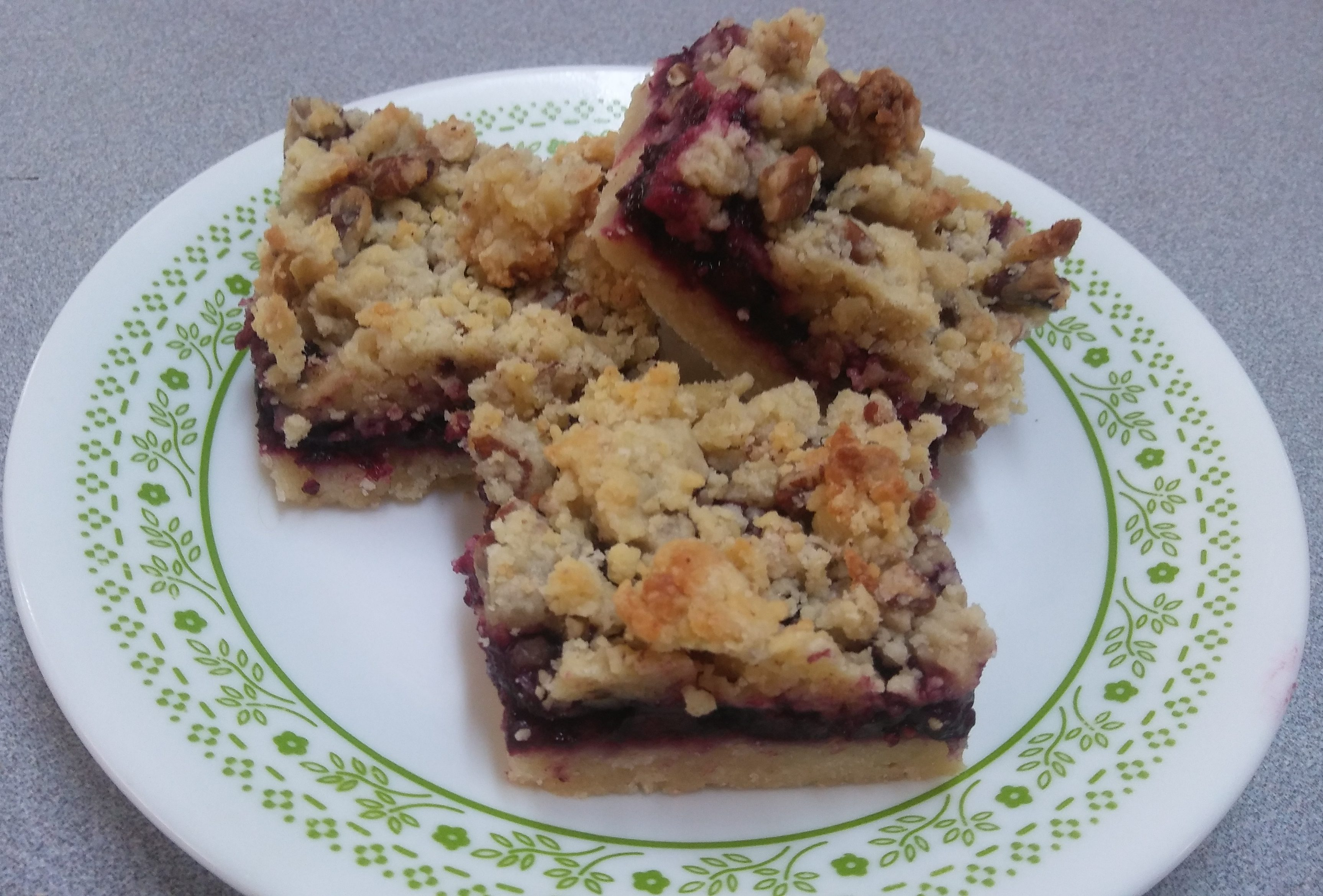 Fruit Cookie Bars - A Tantalizing Blend of Cranberry and Raspberry