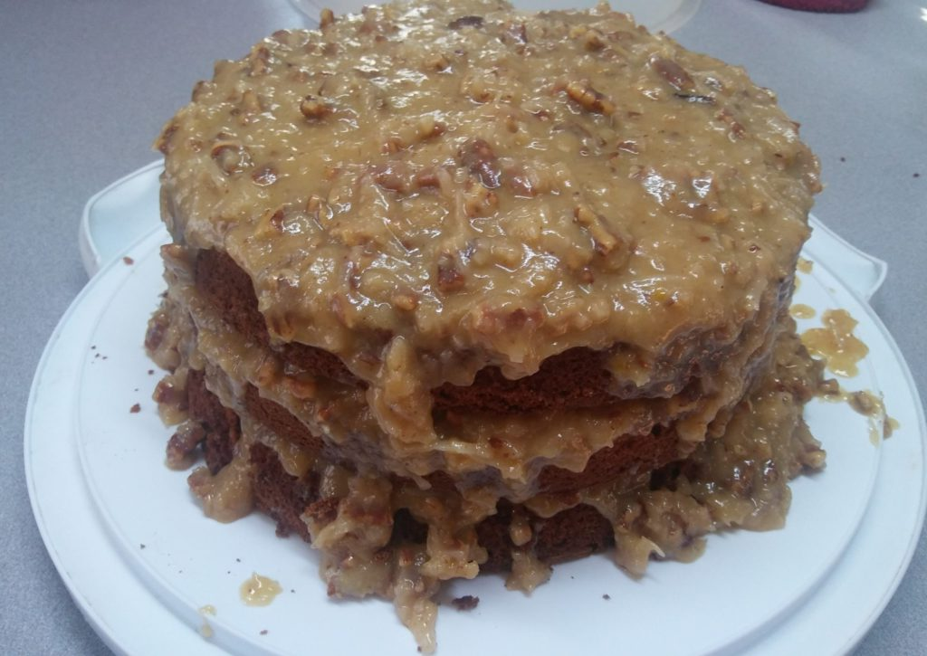 Homemade German Chocolate Cake Recipe - Moist and Delicious