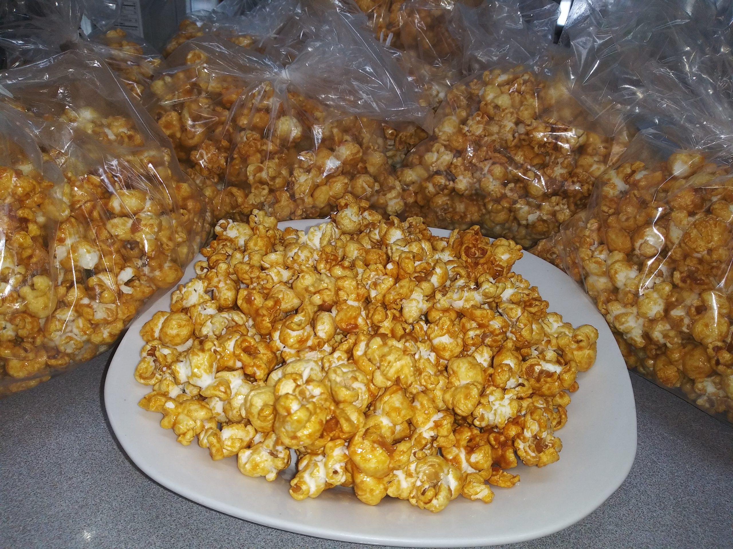 Easy Microwave Caramel Popcorn - Less Than 30 Minutes To Make