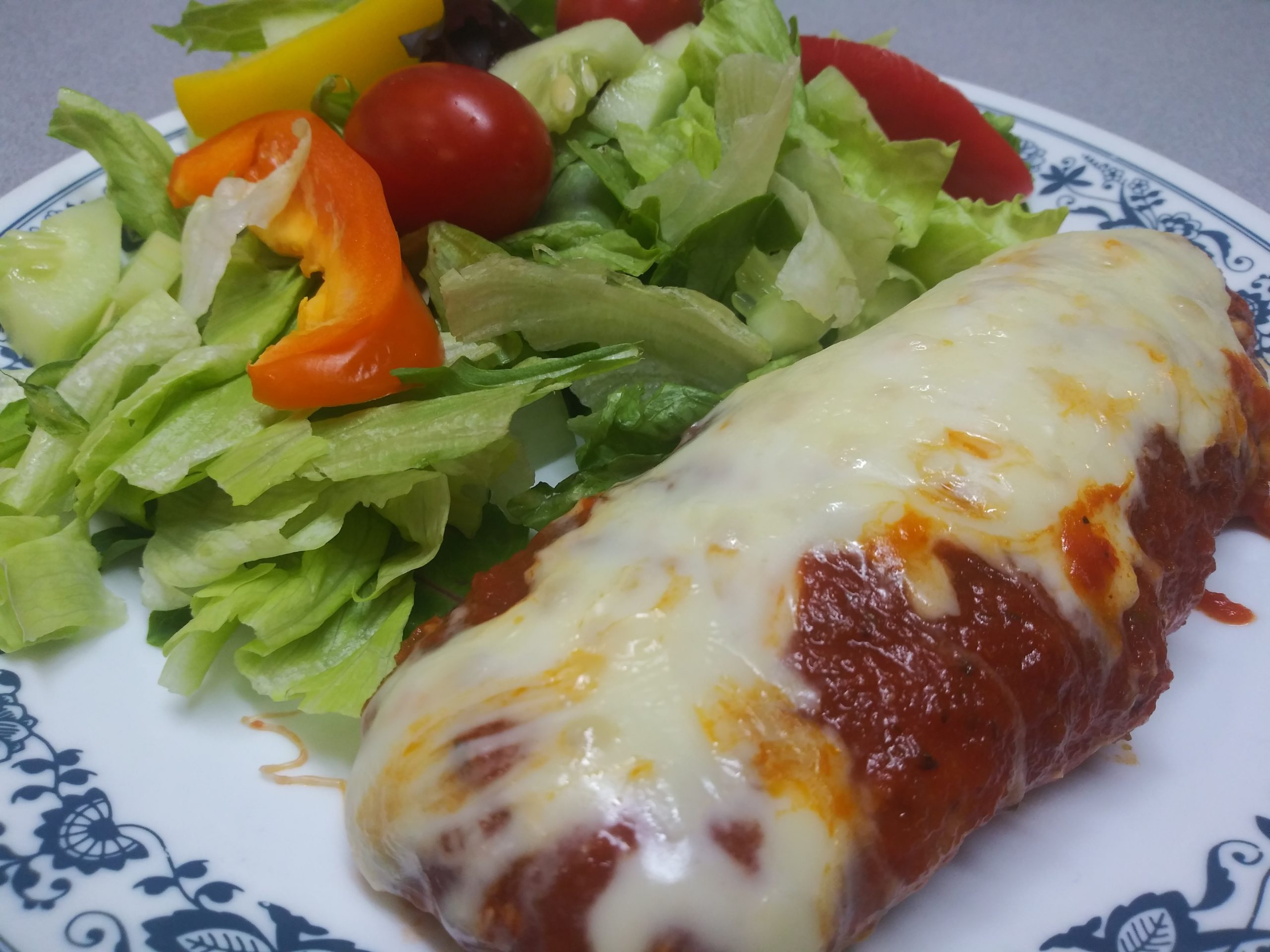 Easy Baked Chicken Parmesan Recipe
